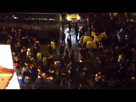 Chelsea & Schalke fans on the Fulham Road 06/11/13