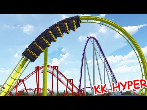 Starchaser (NoLimits 2) ||| Kentucky Kingdom B&M Hyper Coast