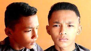 Men's Hair Cut hair style(Cara mudah membentuk gaya rambut)