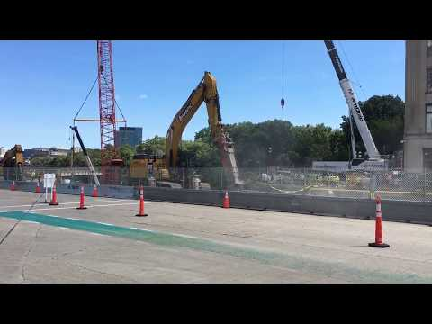 Listen to how loud construction is at Commonwealth Ave. Bridge in Boston
