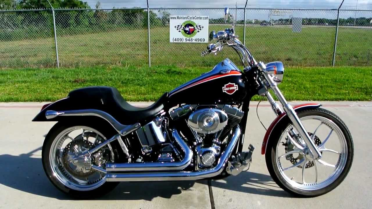 2001 Harley Fxstdi Softail Deuce Super Custom