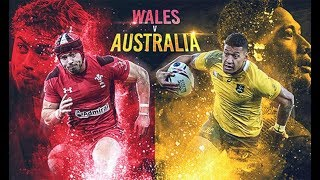 PAYS DE GALLES - AUSTRALIE : Rugby Challenge 3