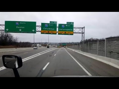 BigRigTravels LIVE! Sidney, Ohio to Troy, Illinois I-75 & I-70-Jan. 23, 2018