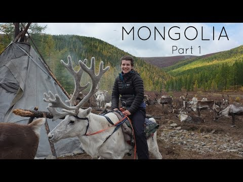 Riding a reindeer! Northern Mongolia | Travel Vlog 2