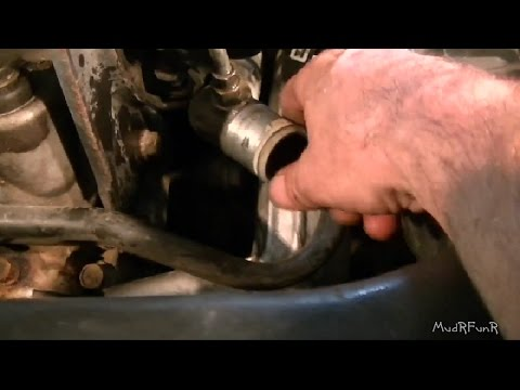 Grand Am 3400 V6 Thermostat Replacement - YouTube