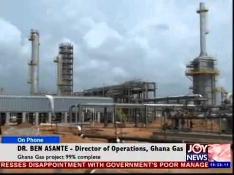 Getting insight on the Completion of Ghana's Gas Project
