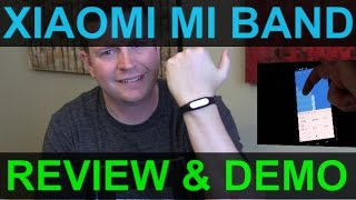 xiaomi mi band fitness and sleep tracker review and demo band and app
