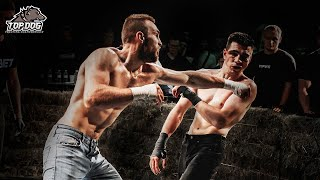 David Loban vs. Adam Borz/ bare-knuckle fight/ TDFC 4