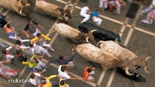 Video Pamplona, Spain: Running of the Bulls download MP3, 3GP, MP4, WEBM, AVI, FLV Agustus 2018