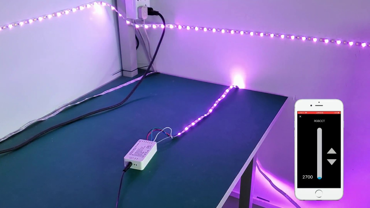 How Do Gledopto LED Strip controller work with Smartthings Gateway
