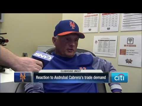 Mets manager Terry Collins reacts to Asdrubal Cabrera drama