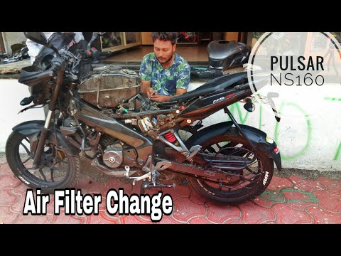 Ns 160 Tank Remove for Change Air Filter... Servicing