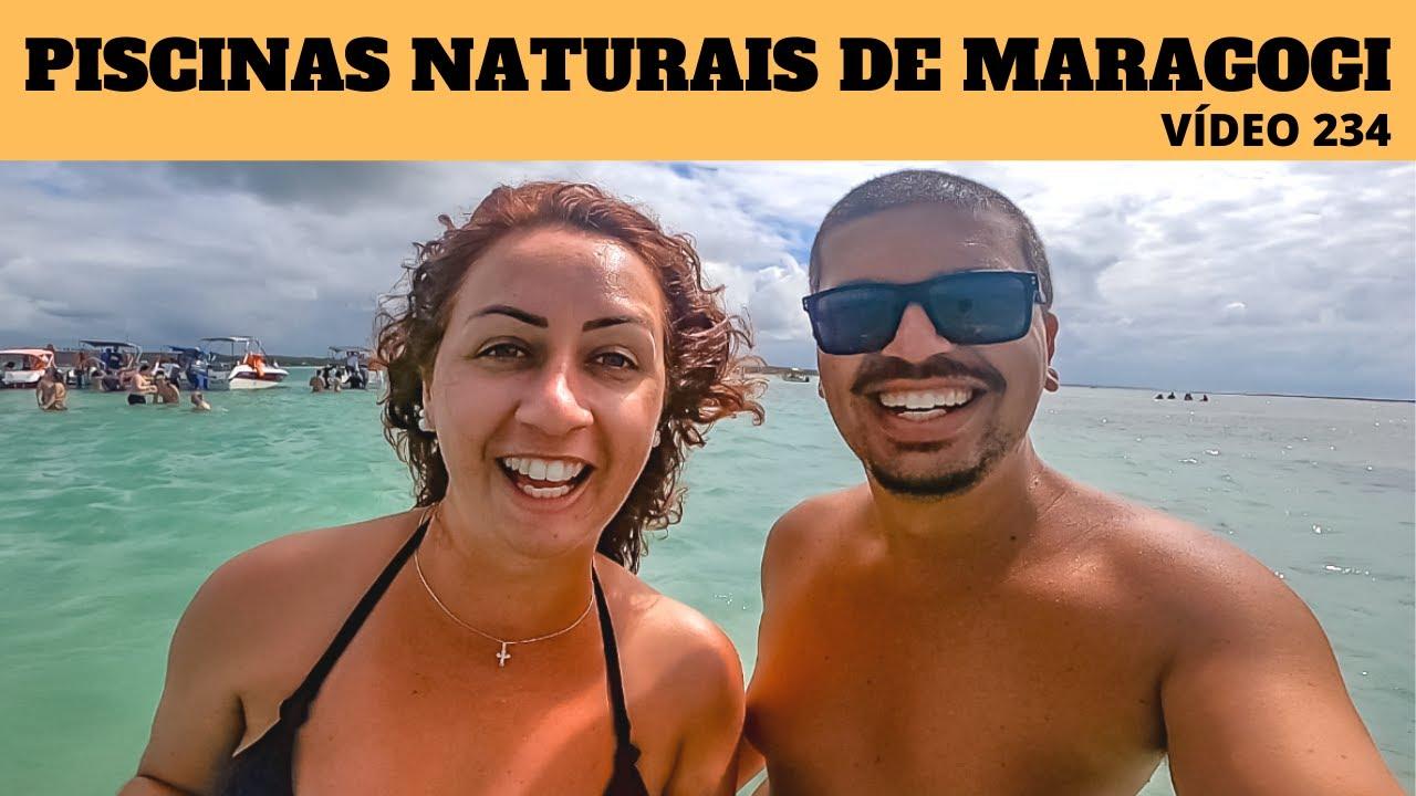 MUITOS PEIXES NAS LINDAS PISCINAS NATURAIS DE MARAGOGI - VÍDEO 234