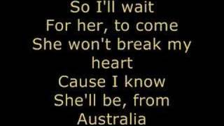 *Jonas Brothers - AUSTRALIA* Lyrics