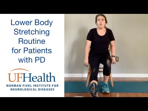 Lower Body Stretching