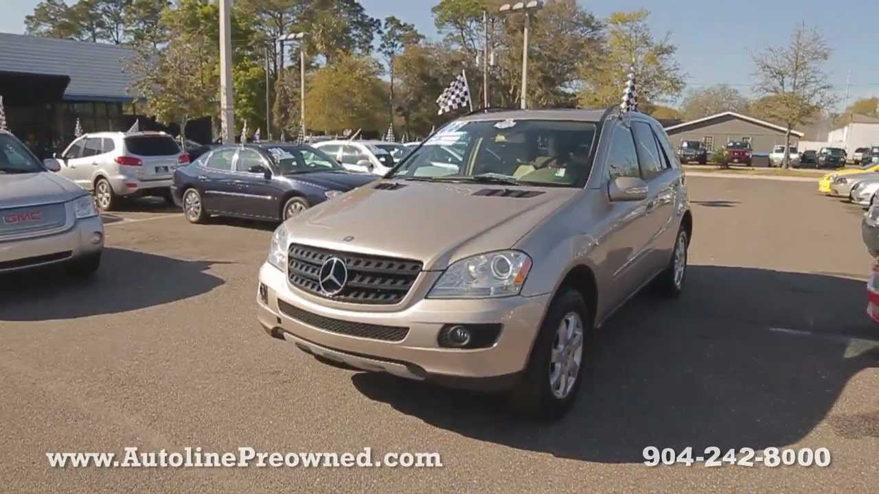 Autoline Preowned 2006 Mercedes Benz Ml350 4matic For Sale Used Walk