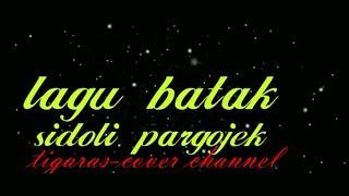 karaoke-sidoli pargojek-lagu batak terbaru-E=do
