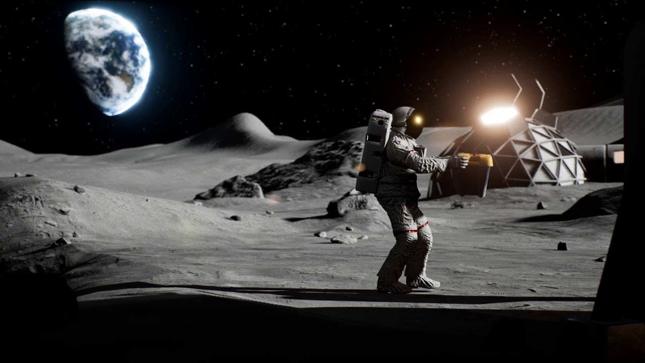 Earthlight >> Alice Space Mixed Reality Lunarmission Trailer By Noitom Youtube