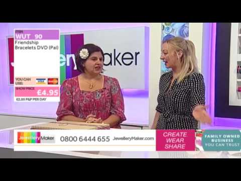 How to Make Beaded Jewellery: JewelleryMaker LIVE 26/02/2015