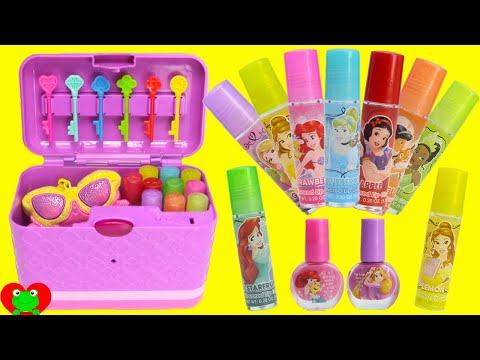 Thumbnail: Secret Keepsake Password Journal Box with Disney Princess Lip Balms and Surprises