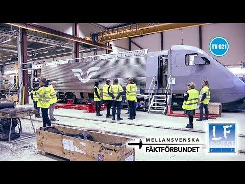 Nya X2000-tågen byggs i Tillberga