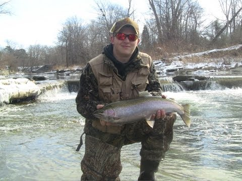 Steelhead fly fishing walnut creek erie pa doovi for Erie pa steelhead fishing report