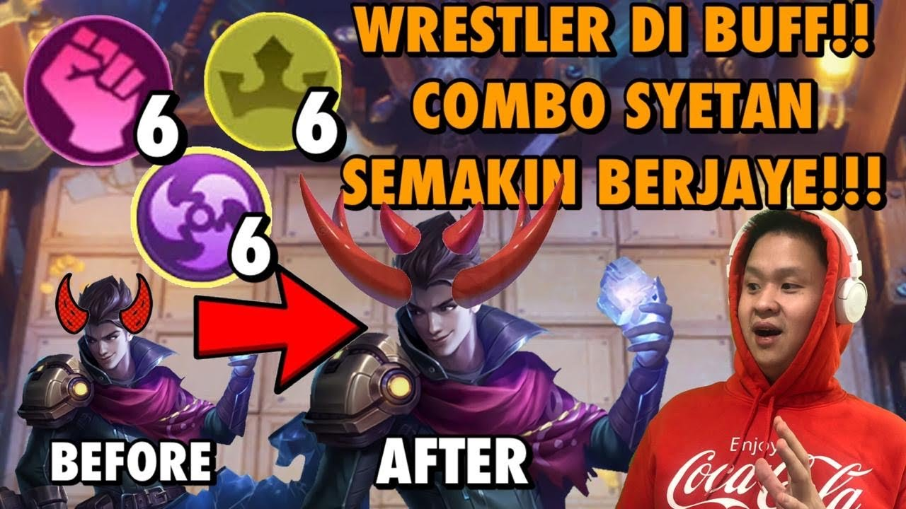 WRESTLER SUPER BUFF?!? CLAUDE 3 SYNERGY MAKIN SYETONNNNNN AJAAA