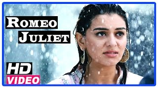 Romeo Juliet Tamil Movie | Scenes | Hansika came to know Jayam Ravi is a Gym coach