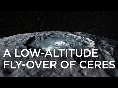 A Low-Altitude Fly-Over of Ceres
