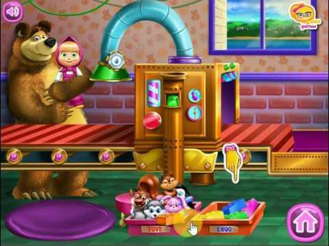 Masha E Urso Desastre Dos Brinquedos Jogos Jogos Gratis Youtube
