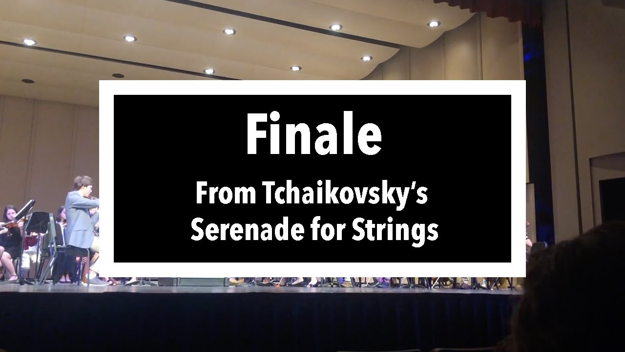 Tchaikovsky Serenade for Strings in C Major, Op. 48, IV. Finale