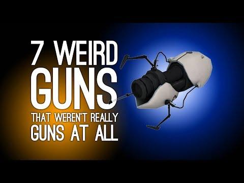 7 Weirdest Guns That Weren't Really Guns at All