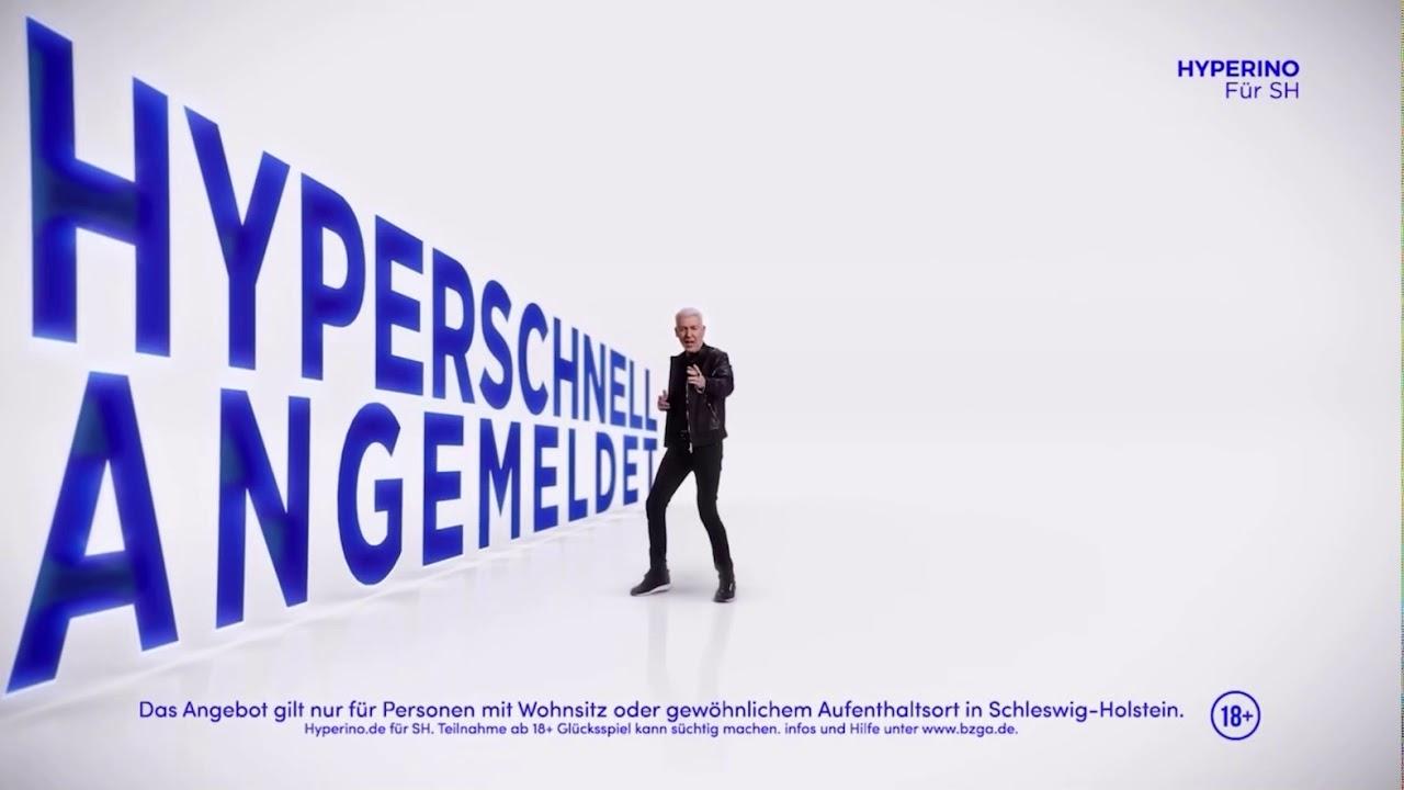 Hyperino Werbung