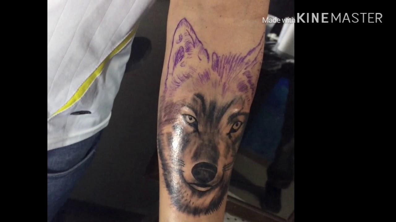 Como tatuar Lobo realista