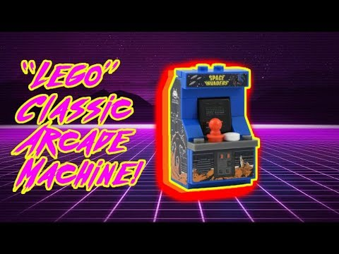 """""""LEGO"""" Arcade Machine Space Invaders Unboxing"""