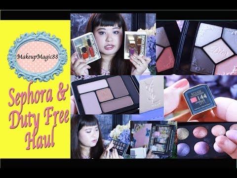 ♥ Sephora & Duty Free Haul - Holiday Haul Part 2 ♥