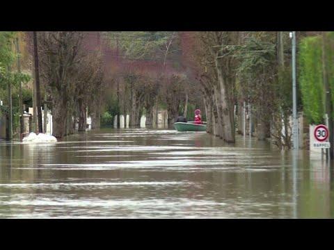 Crue de la Seine: Poissy particulièrement touchée