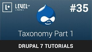 Drupal Tutorials #35 - Taxonomy Part 1
