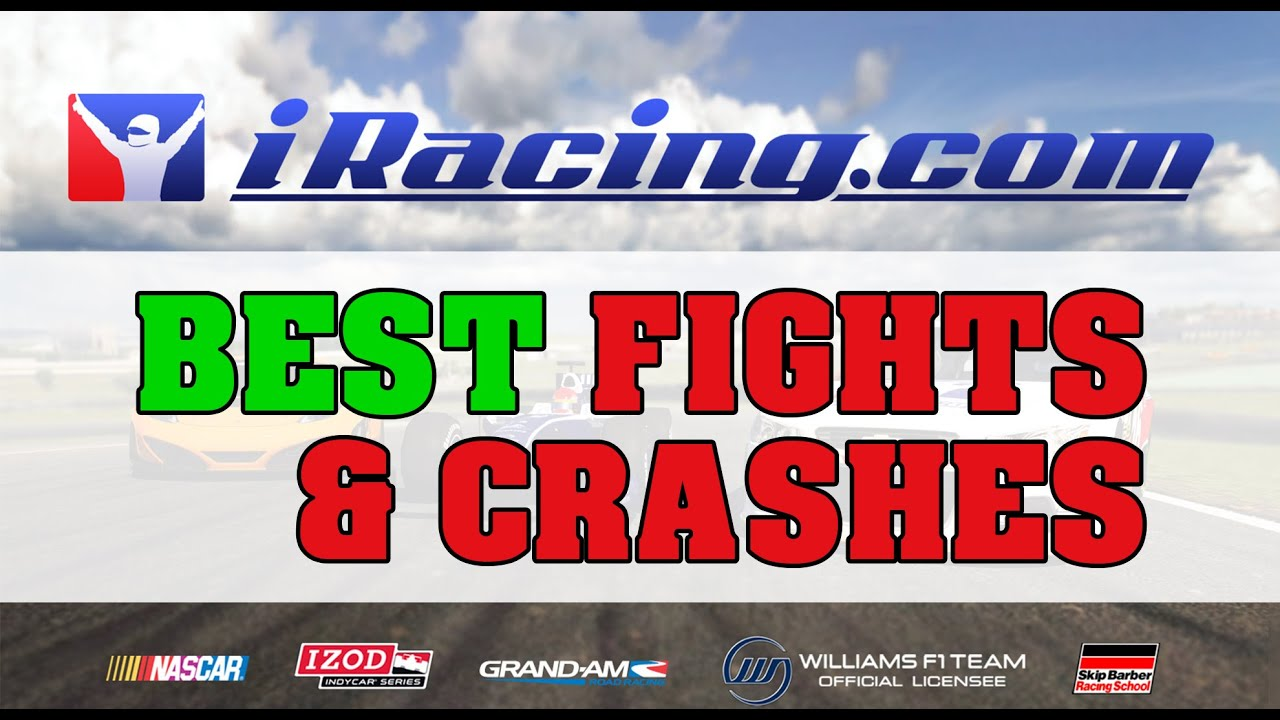 iRacing 1-2016 // Compilation of Best Fights, Crashes, Overtakes, Moments  and Finishes