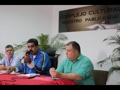 Maduro aprueba recursos para aumento salarial 2015 a trabajadores del MinCultura
