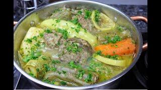 دولمة بالخضار الطبق الي متستغناش  عليه الاسرة الجزائرية في رمضان