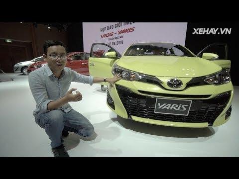 Tìm hiểu nhanh Toyota Vios và Yaris 2018, giá từ giá từ 531 triệu vừa ra mắt  XEHAY.VN 