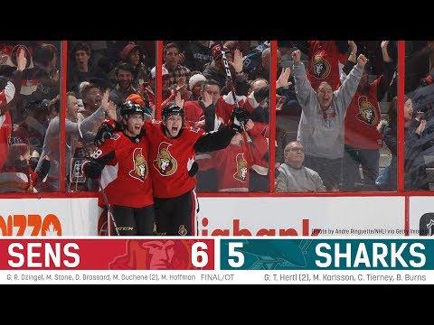 Jan 5: Sens vs. Sharks - Players Post-game Media