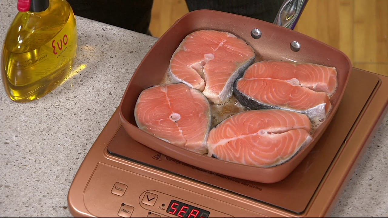 Copper Chef Portable Induction Cooktop On Qvc Youtube
