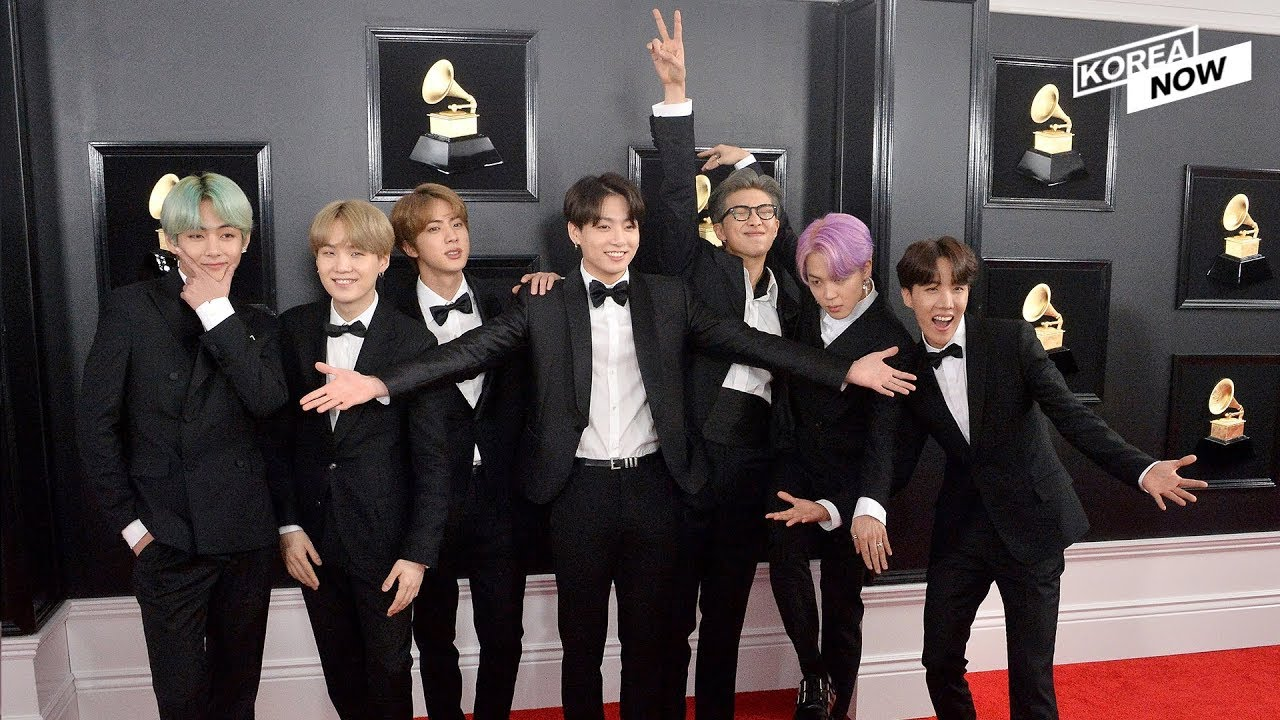 Bts 2019 Grammy Tuxedos To Be Displayed At Grammy Museum Youtube