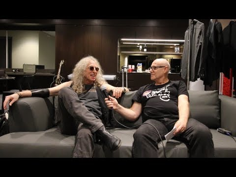 WADDY WACHTEL: Backstage interview in Australia