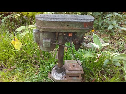 Drill Press Restoration | Bench Drill Restoration