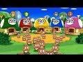 Mario Party 9 - All Brainy Minigames