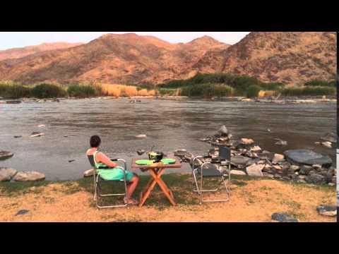 The banks of the Orange River - Richtersveld National Park - De Hoop