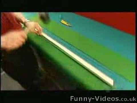 How to make pool tables youtube for How to build a billiard table